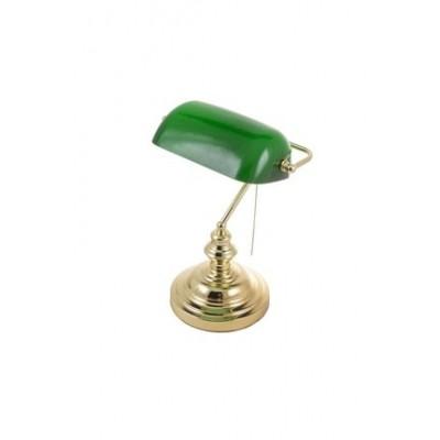 Akdeniz aydınlatma Sedef Banker Altın Masa Lambası M10810