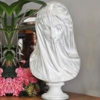 Duvaklı Bakire (The Veiled Virgin) Tasarımlı Heykel / Büst